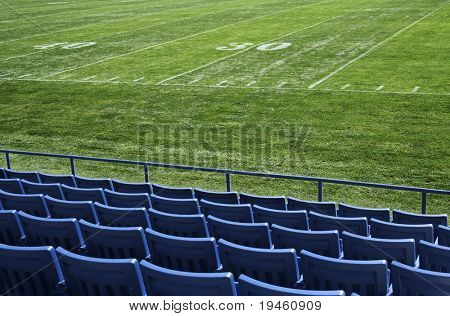 Football Stadium View