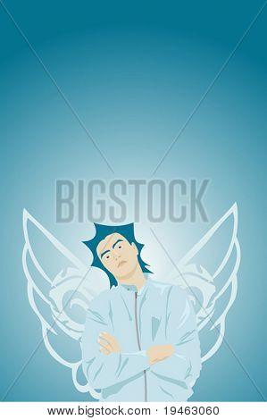 Vector - Angel Illustration