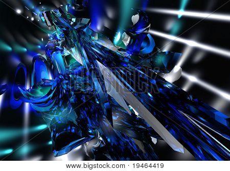 blue&silver saphire