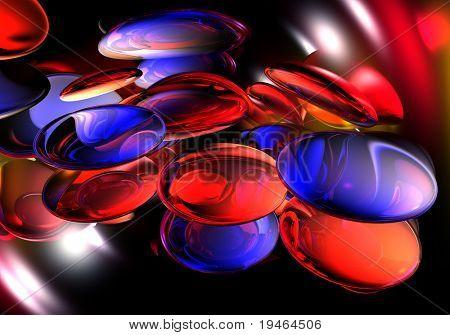 Blue&Red Backround 01