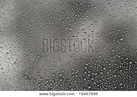 Regen fällt Textur