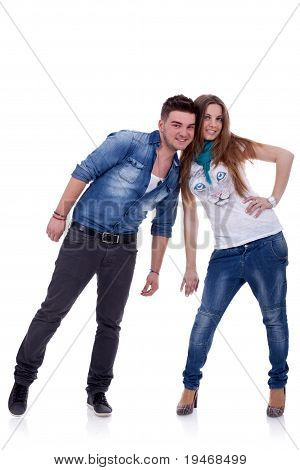 Hermosa pareja joven