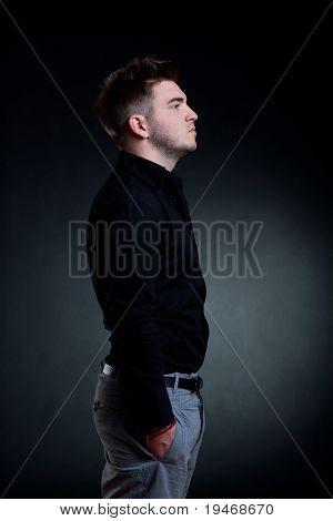 Handsome Man Standing