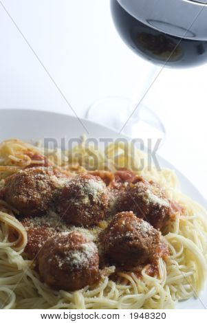 Meatballs And Spaghetti Classic