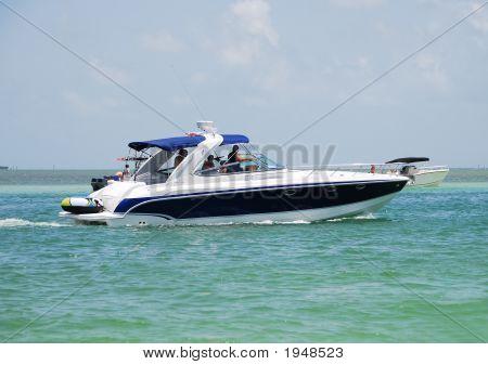 Recreational Motor Boat