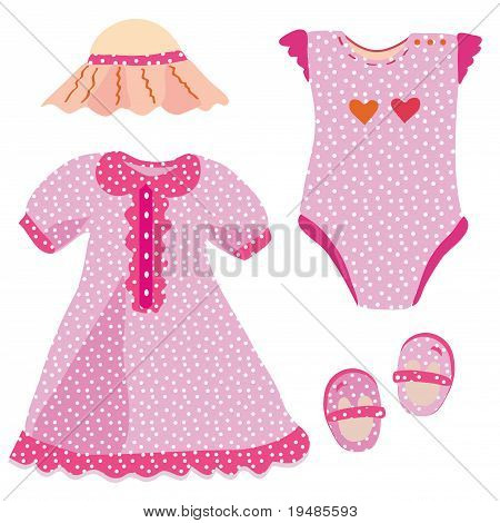 Baby set for girl