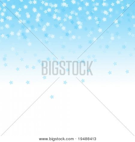 Celebratory background. The stars fall from above. Gentle and beautiful. Ideally for use in your design.