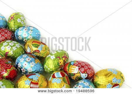 Easter eggs a background. Bright, beautiful and celebratory! Ideally for your use!