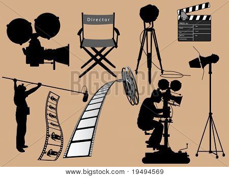 Vector representation of a cinema items collection