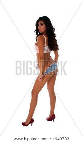 Sexy Brunette Woman 2
