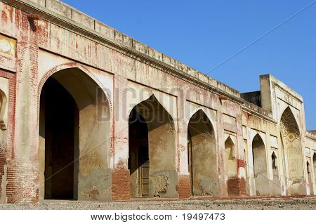 Archways in Lahore Fort, Mughal dynasti, Pakistan