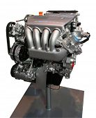 stock photo of high-octane  - F1 engine - JPG