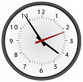 clock vector graphic