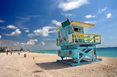 picture of cabana  - South Beach Miami - JPG