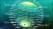 Abstract Digital Big Data. World Of Big Data. poster