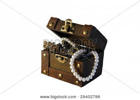Captain Hook's treasure chest