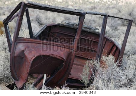 Old Abandoned Automobile