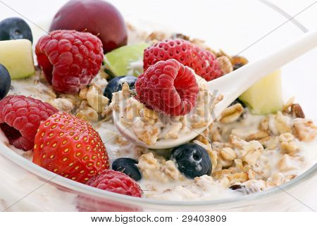 Muesli with fresh Fruits