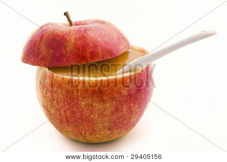 Apple with Compote