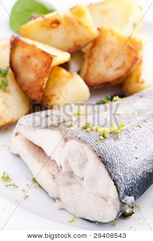Trout with Potato