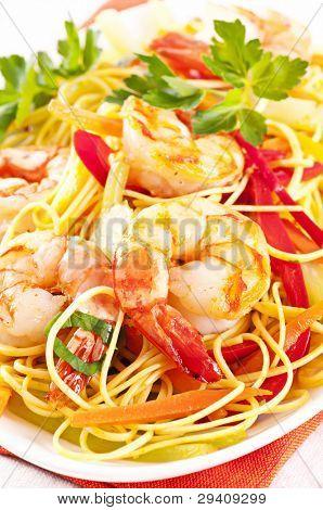 Seafood Goreng