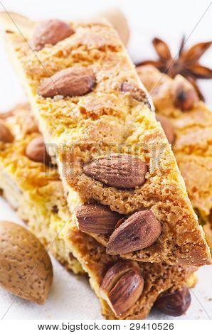 Italian almond cantucci