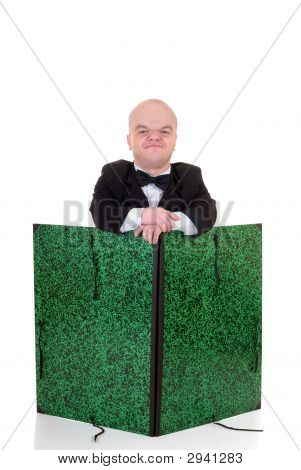 Dwarf, Little Man Waiter