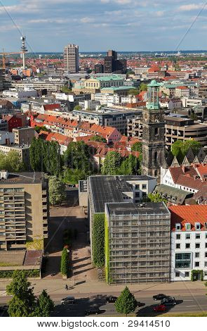 View On The Center Of Hannover