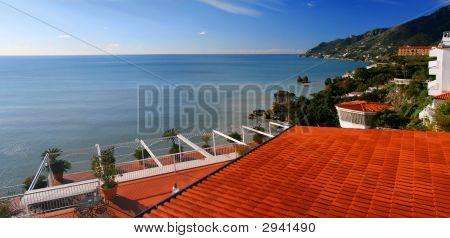 Roof And The Tyrrhenian Sea