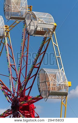 Caged Fairground Wheel