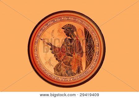 Ancient greek motif