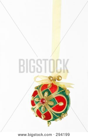 Bejewelled Christmas Bauble