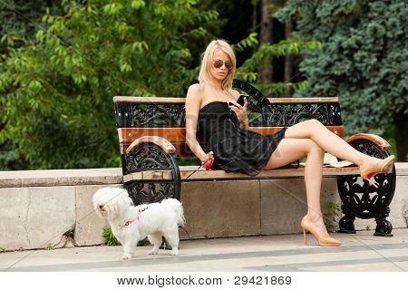 Fashion Woman Park