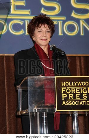 LOS ANGELES - NOV 9:  Dr. Aida Takla-O'Reilly, HFPA President at the CECIL B. DEMILLE AWARD Honoree Announcement at Beverly Hilton Hotel on November 9, 2011 in Beverly Hills, CA
