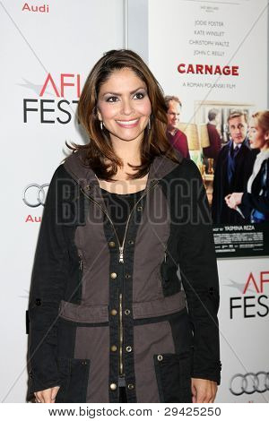 LOS ANGELES - NOV 5:  Farah White arrives at the AFI FEST 2011 Gala Screening of