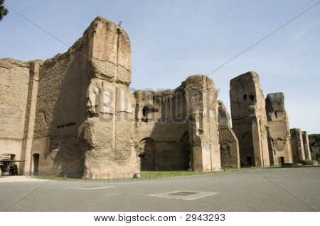 Caracalla'S Baths Site