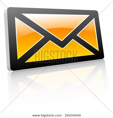 Message icon. Vector illustration for web.