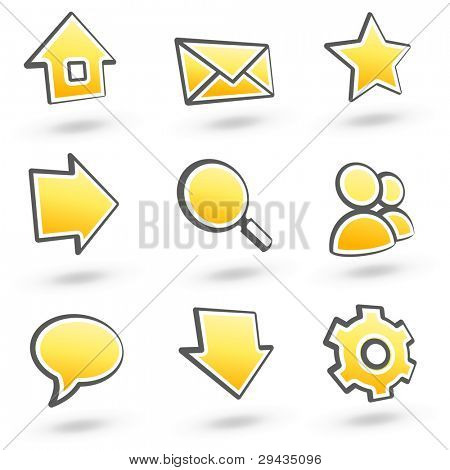 Website icons set 01. See more in my portfolio.