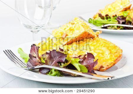 Pasta Omelette