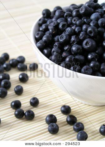 Bowl Of Bilberries