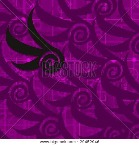 Purple Swoop Background
