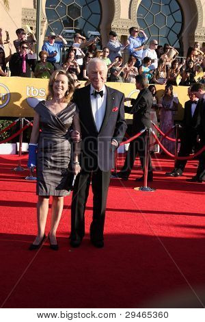 LOS ANGELES - JAN 29:  Christopher Plummer arrives at the 18th Annual Screen Actors Guild Awards at Shrine Auditorium on January 29, 2012 in Los Angeles, CA