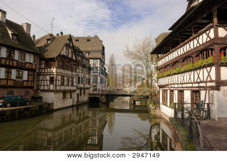 Petite France In Strasbourg