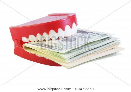 Teeth Eating Dollars