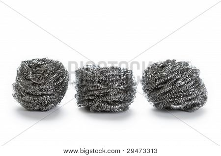 Stainless Steel Pan Scourers