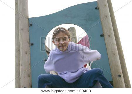 Child Enjoying