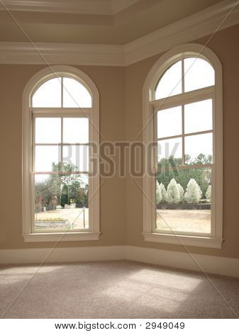 Luxury Double Arch Window