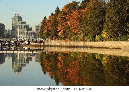 Coal Harbor, Stanley Park, Vancouver