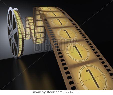 Film Reel Countdown