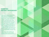 Beautiful Classic Pastel Green Mint And White Polygon Shape In Minimal Modern Trendy Geometric Conce poster
